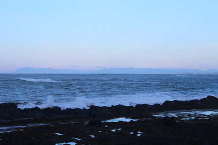 Snæfellsnes in the distance