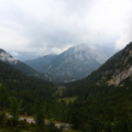 From the Vršič pass to the Julian Alps