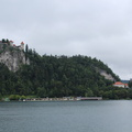 Bled - The Castle and the city center