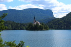 Bled Island from the back