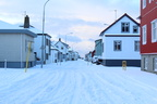 Streets of Akranes